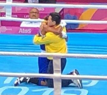Boxeadora de la liga del Tolima, medalla de oro en panamericanos