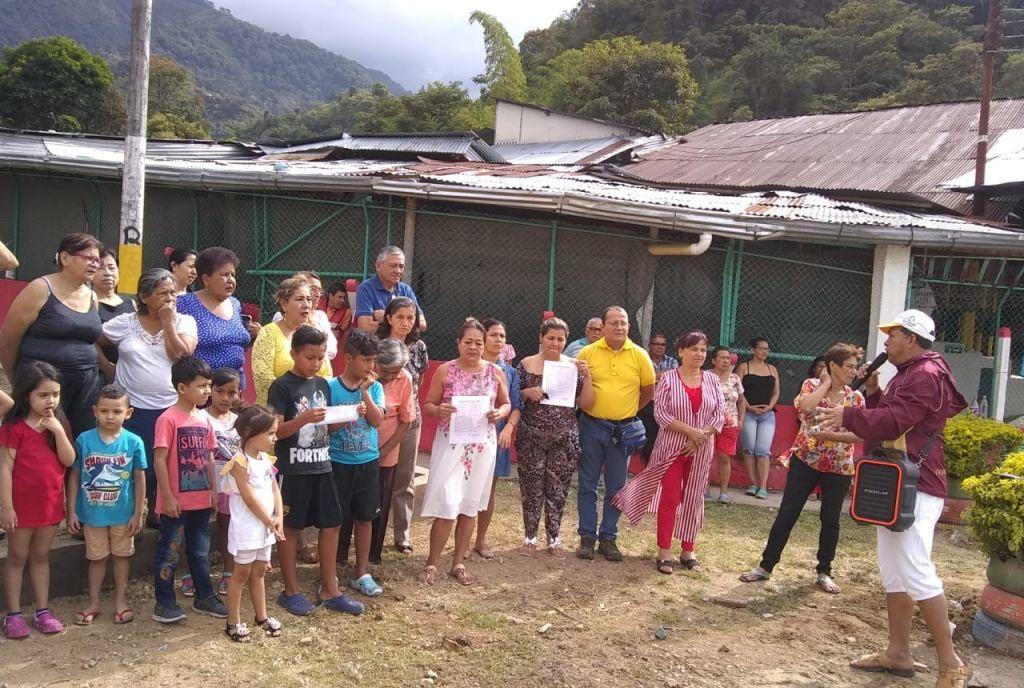 Construcción de un parque, enfrentó dos barrios en Ibagué