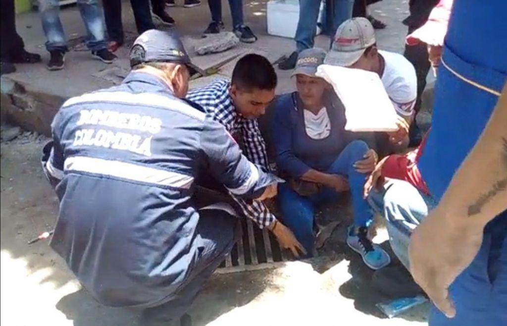 Video: Obra mal hecha por el IBAL, causa emergencia en Ibagué.