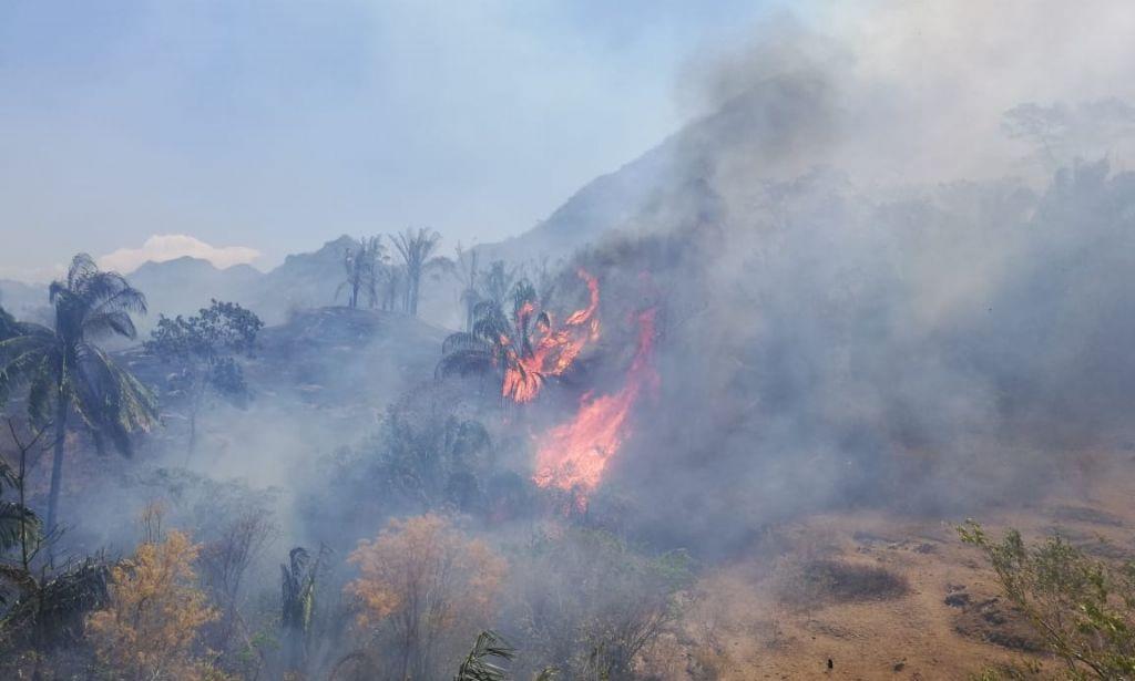 Se agrava desastre natural en el Tolima por incendios forestales
