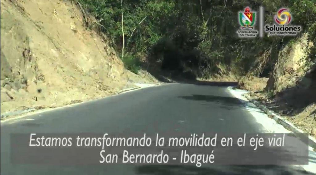 En video: así recupera la gobernación, las vías en el Tolima