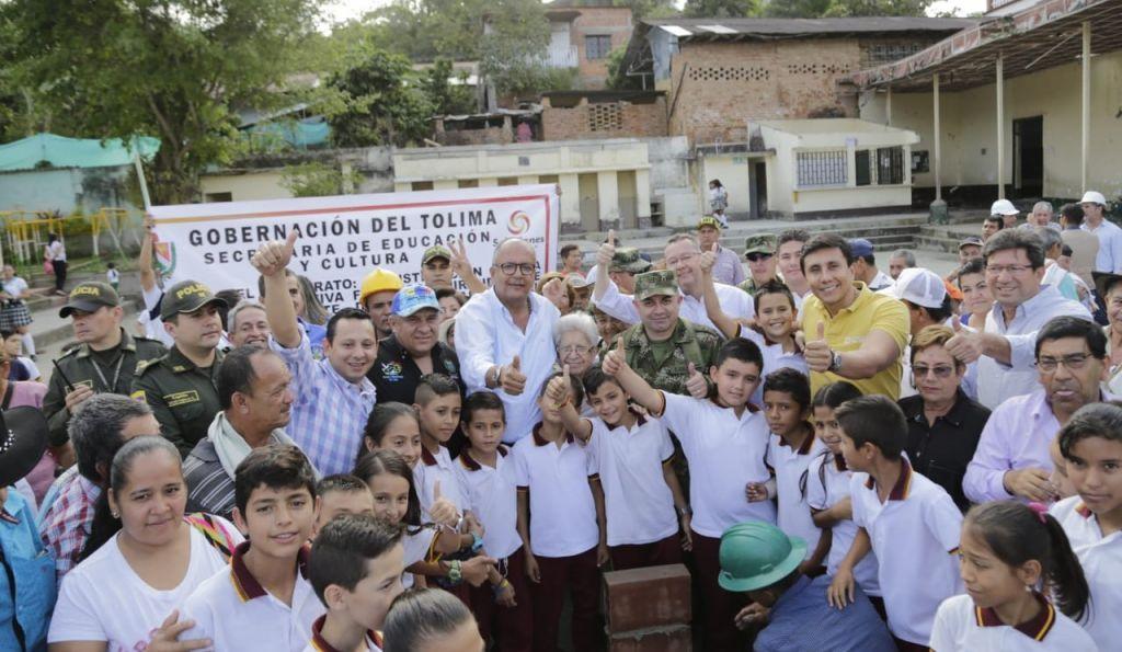 El supercolegio que construirá la gobernación en Rovira Tolima