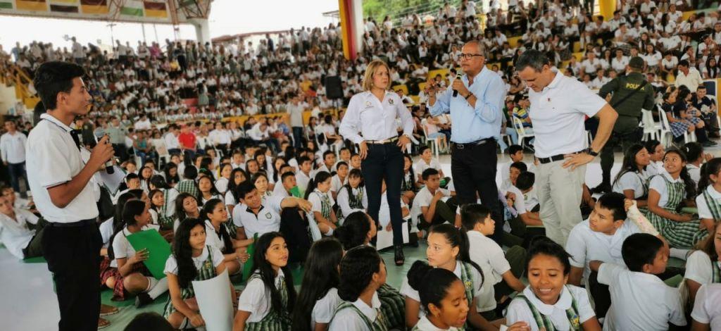 Gobernación invirtió más de $1,6 billones para fortalecer la educación en el Tolima