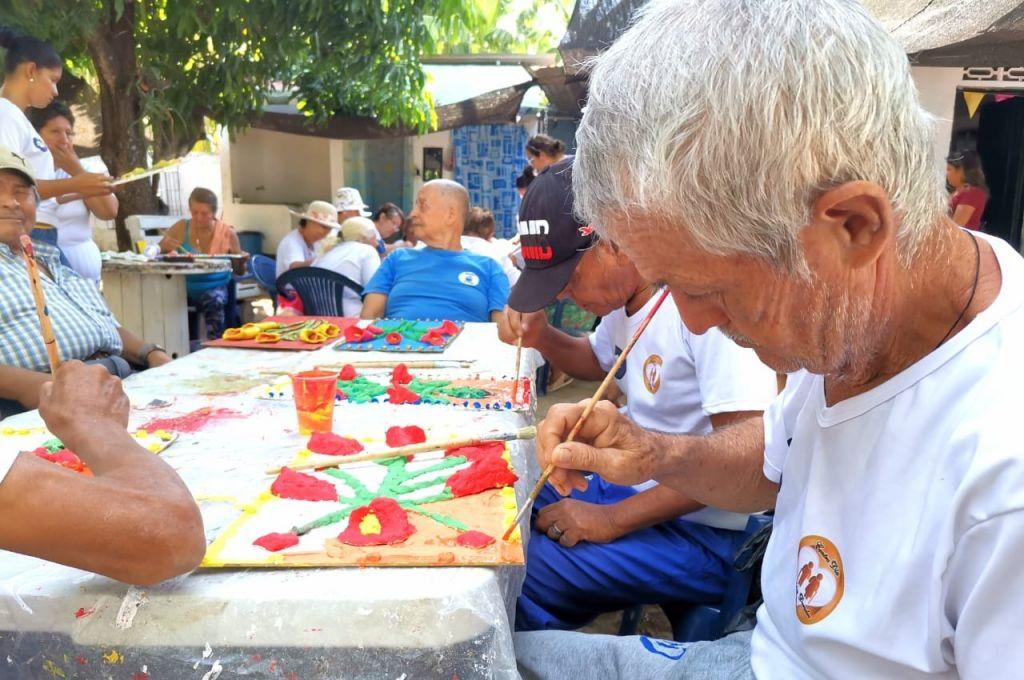Adultos mayores de Saldaña ya disfrutan de actividades en  pro de su bienestar