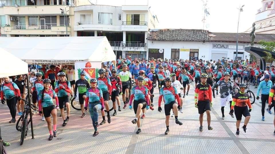 Tercera travesía ciclística del sur del Tolima