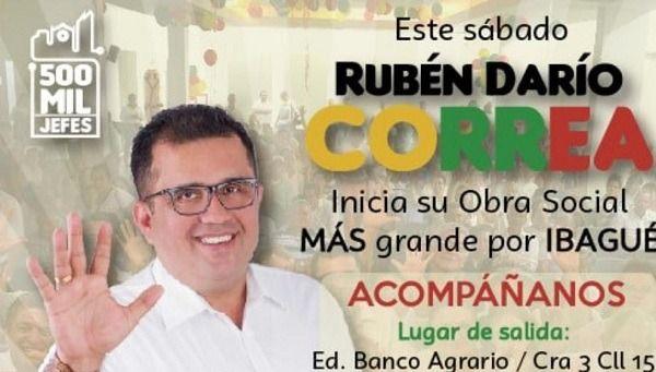 La clase política sembró desolación: Rubén Darío Correa