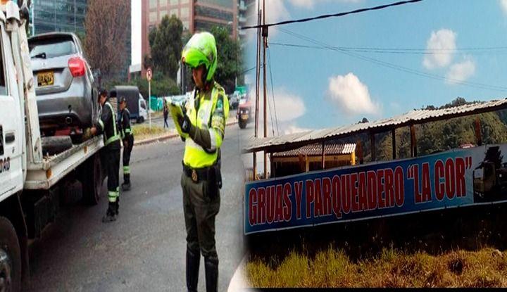 Parqueaderos donde inmovilizan carros en Ibagué, hacen política