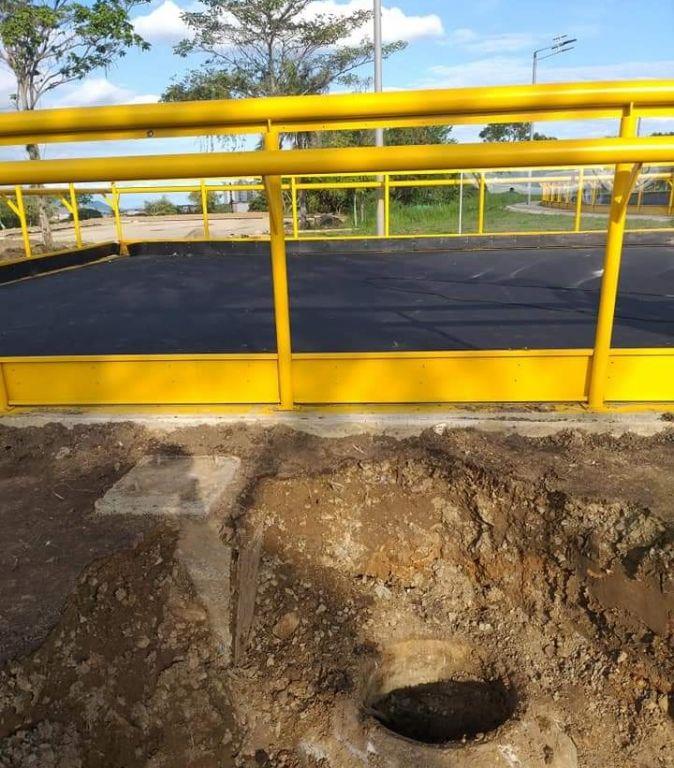 Mala calidad en obra entregada por alcalde de Ibagué
