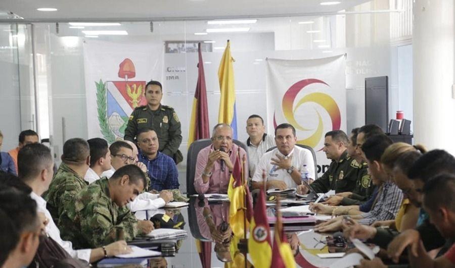 Medidas de seguridad en el Tolima para el 21 de noviembre