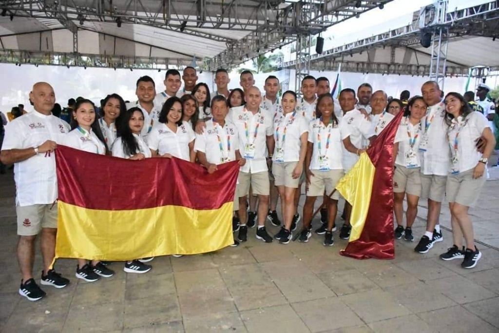 Delegación del Tolima en juegos nacionales Bolivar 2019