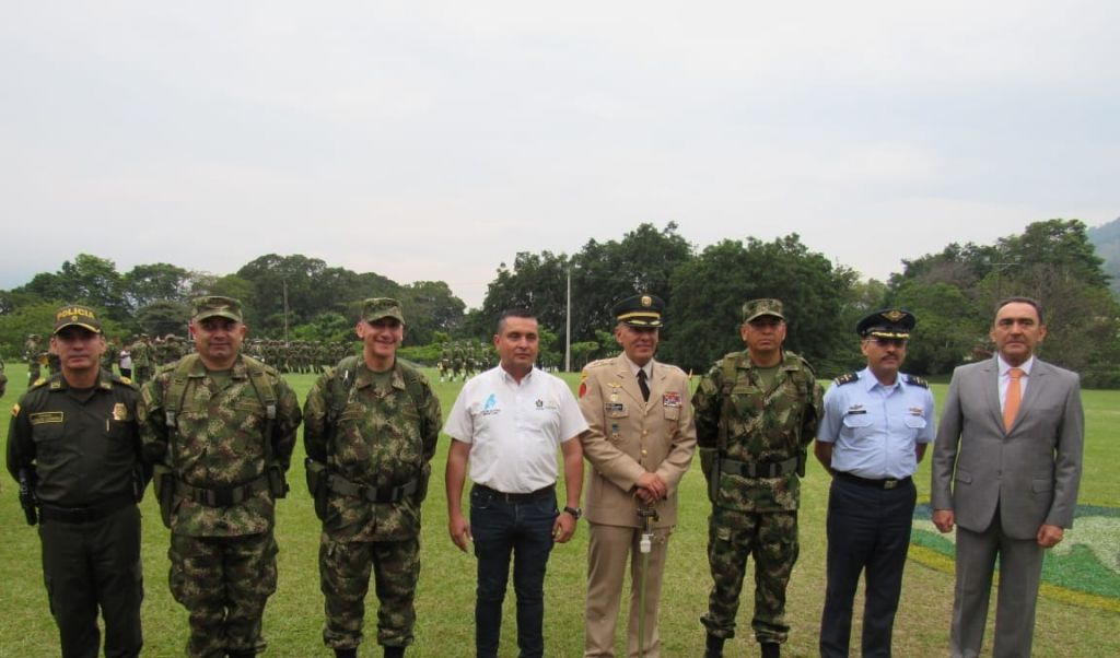 Relevo en el mando al interior de la sexta brigada del ejército en Tolima
