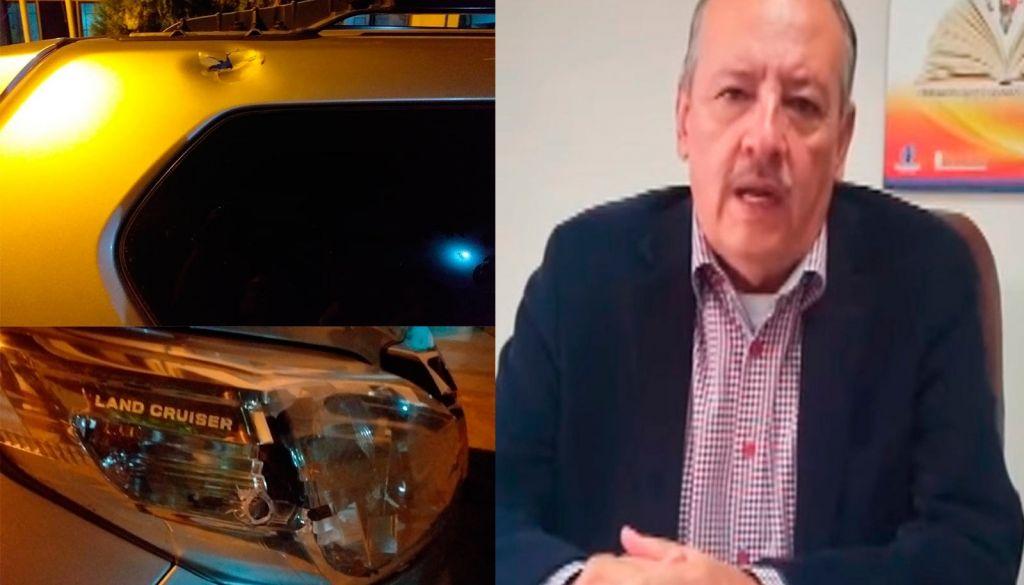 Querían matarme, dijo Carlos Rivas, después de atentado