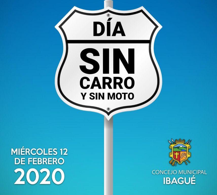 Lo que puede, y no hacer el día sin carro ni moto en Ibagué