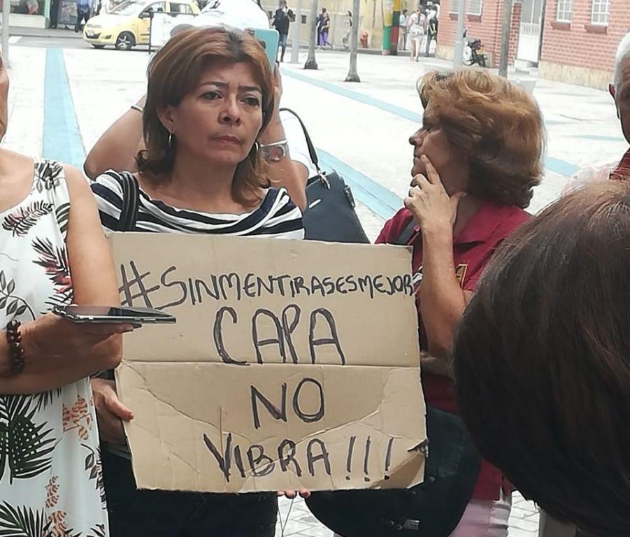 """El capa no vibra"" otra protesta contra el alcalde de Ibagué"
