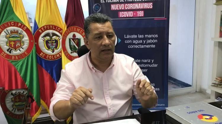 Gobernador responsabiliza al presidente de la salud de los tolimenses