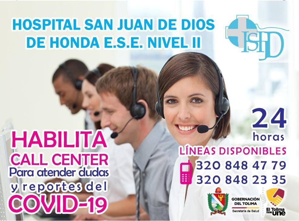 Hospital de Honda preparado para atender casos de covid-19