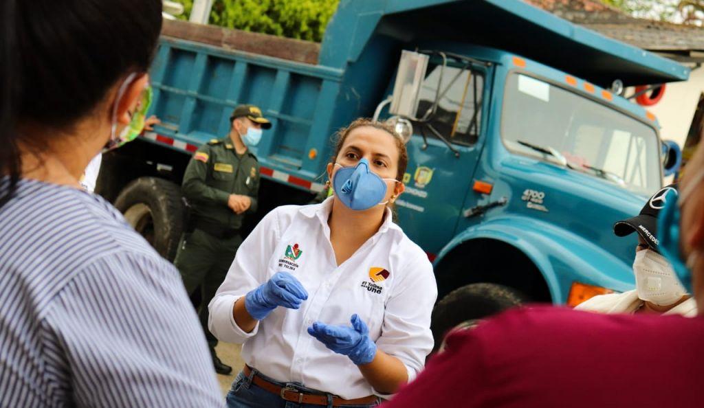 Comenzó distribución en el Tolima de ayudas humanitarias