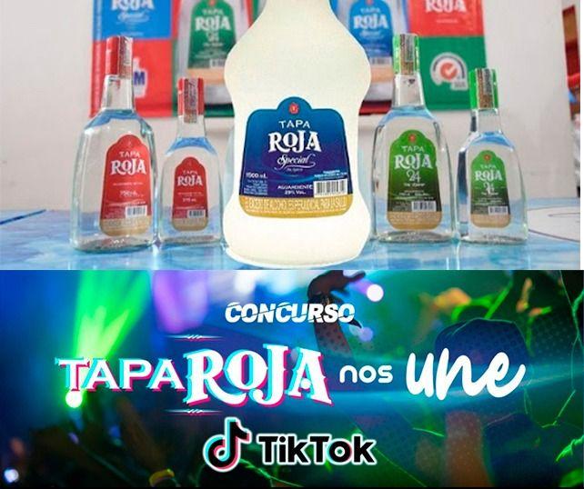 Aguardiente Tapa Roja lanza concurso tik-tok, participa y gana
