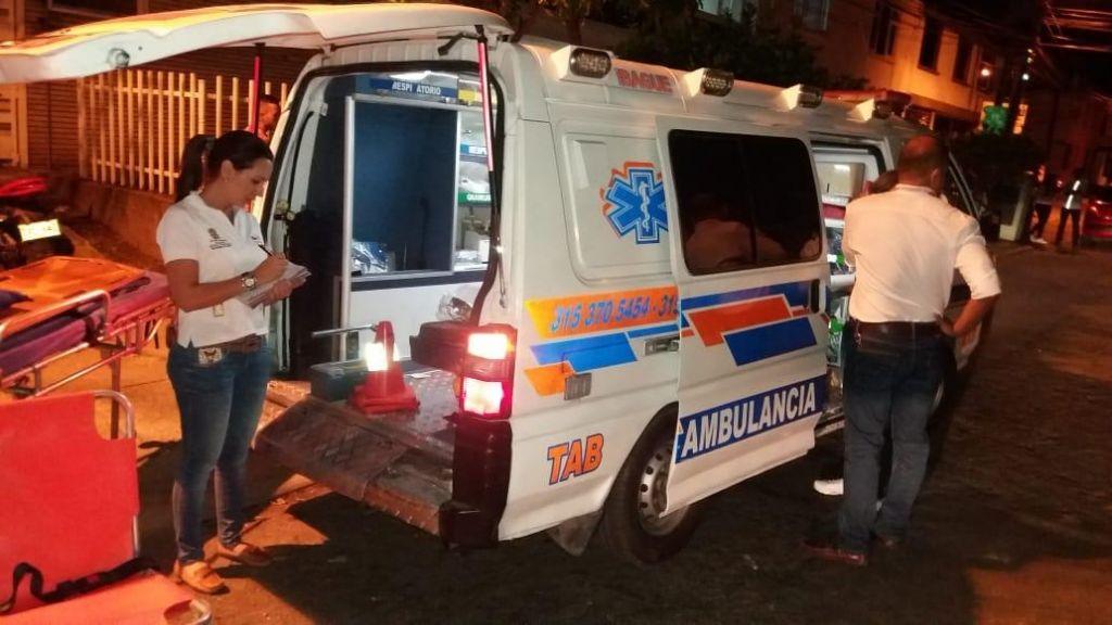 Las ambulancias y el coronavirus en Ibagué