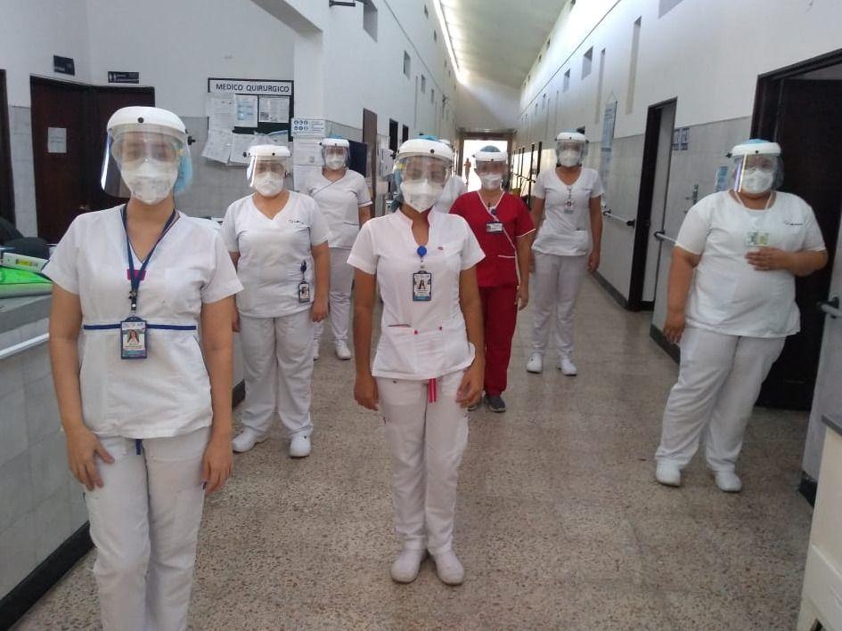 Preparados para la mitigación del Covid-19 en hospital de Honda
