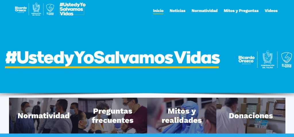 Información detallada sobre el Coronavirus en el Tolima podrá ser consultada a través de un sitio web especializado