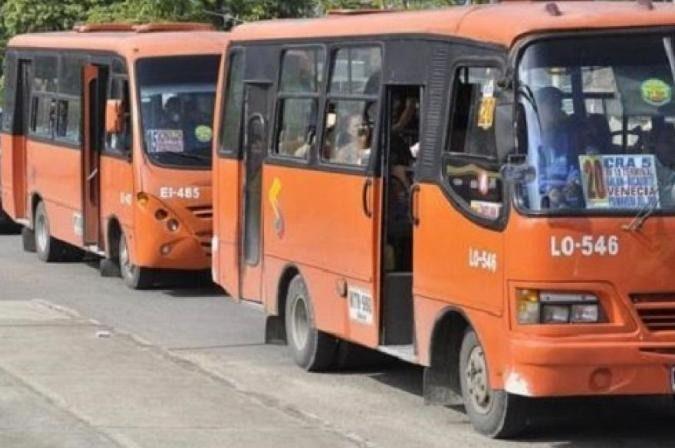 Expreso Ibagué no autorizó operación de sus vehículos