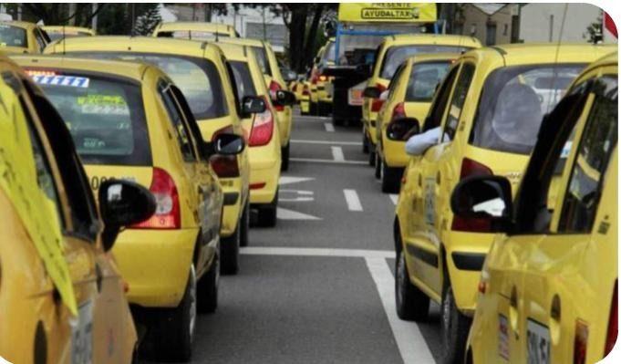 Cambia pico y placa para taxis en Ibagué