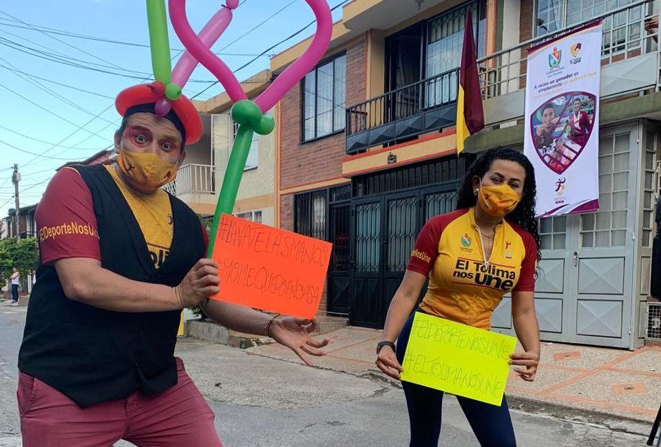 En el Tolima se hace actividad física con medidas de autocuidado