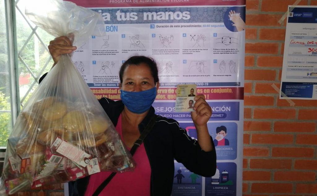 Así entregarán alimentación escolar en el Tolima
