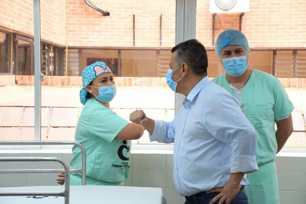 Así quedó la clínica Limonar de Ibagué, que abrió sus puertas