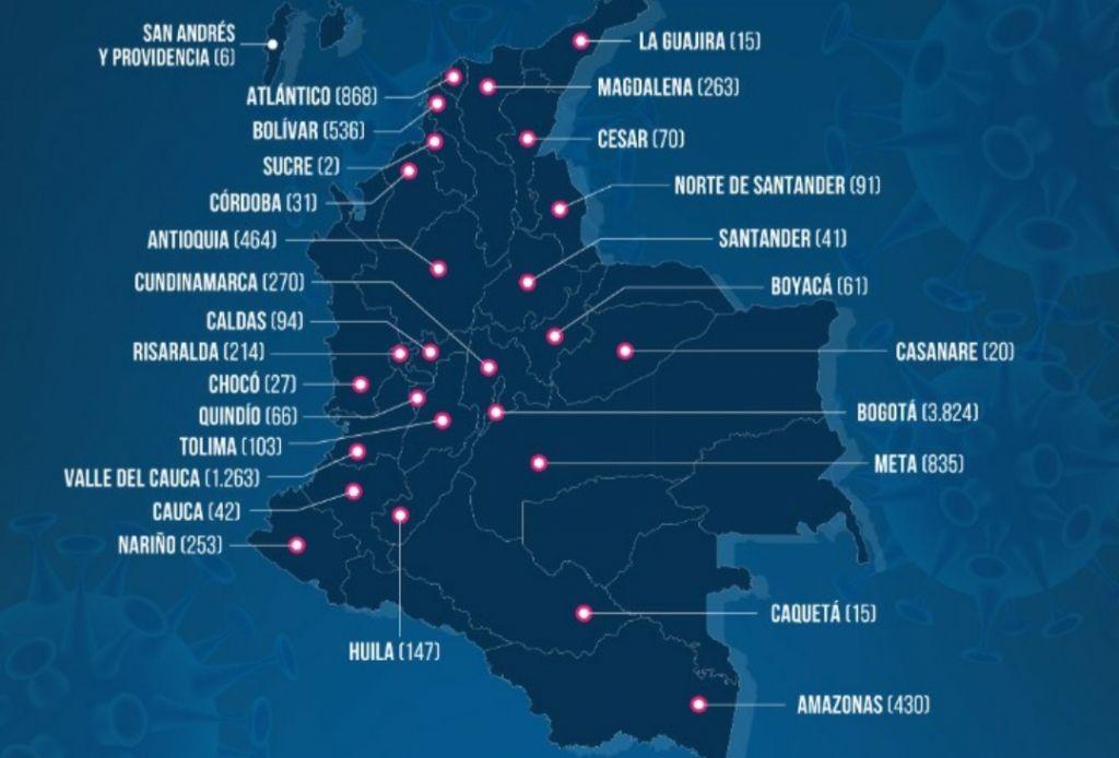 Tolima con 103 casos de covid-19, en Ibagué se reportan 95