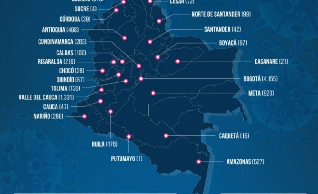 27 nuevos casos de COVID-19 en el Tolima, Rovira nuevo municipio afectado