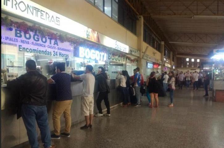 Terminal de Ibagué abre sus puertas, pero con restricciones