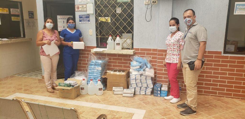 Llegaron elementos de protección a hospitales del Tolima
