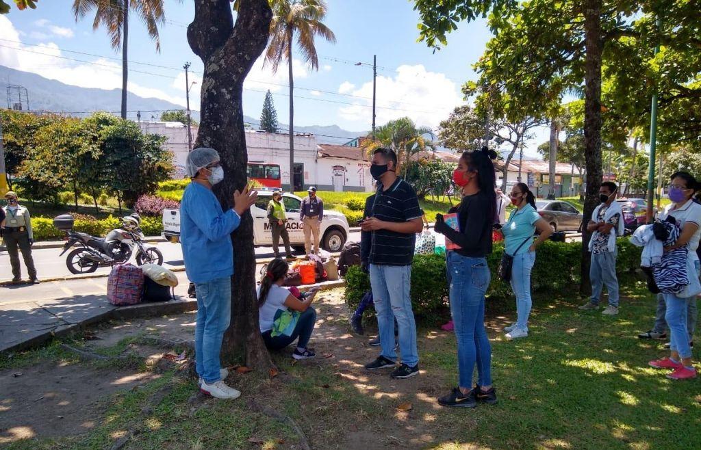 Venezolanos que estaban en Ibagué, vuelven a casa