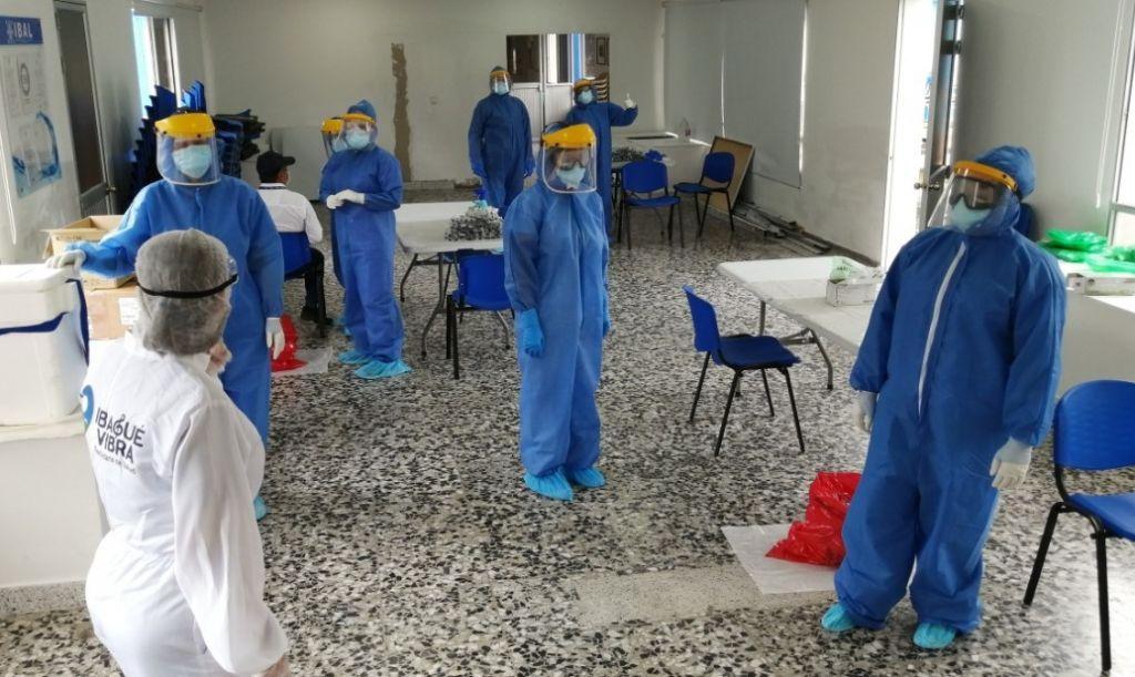 Así trabajan en Ibagué, para disminuir contagios de covid-19
