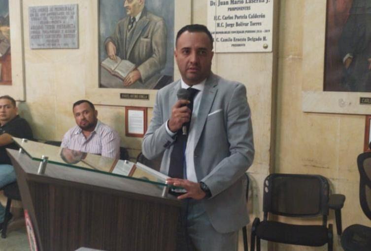 Personero pidió reforzar seguridad del concejal Correa