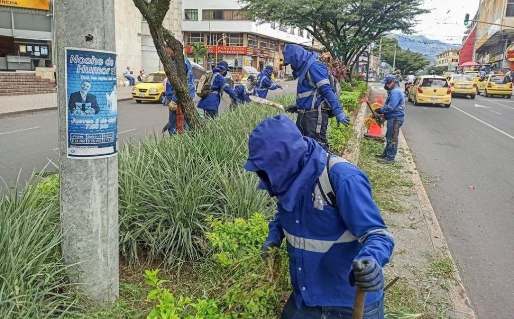 Así son los esfuerzos para mantener a Ibagué, limpia