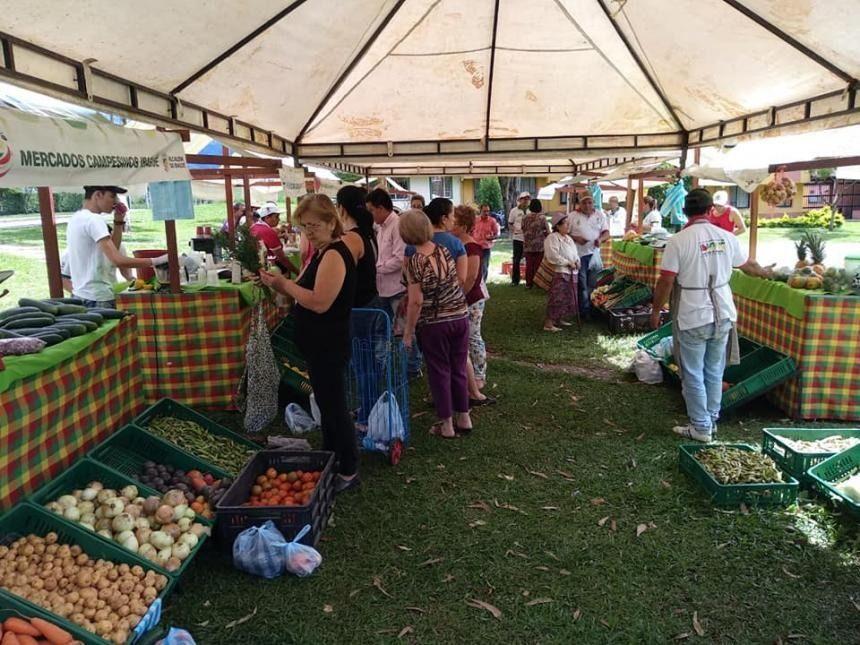 Mercados campesinos siguen tomándose las comunas