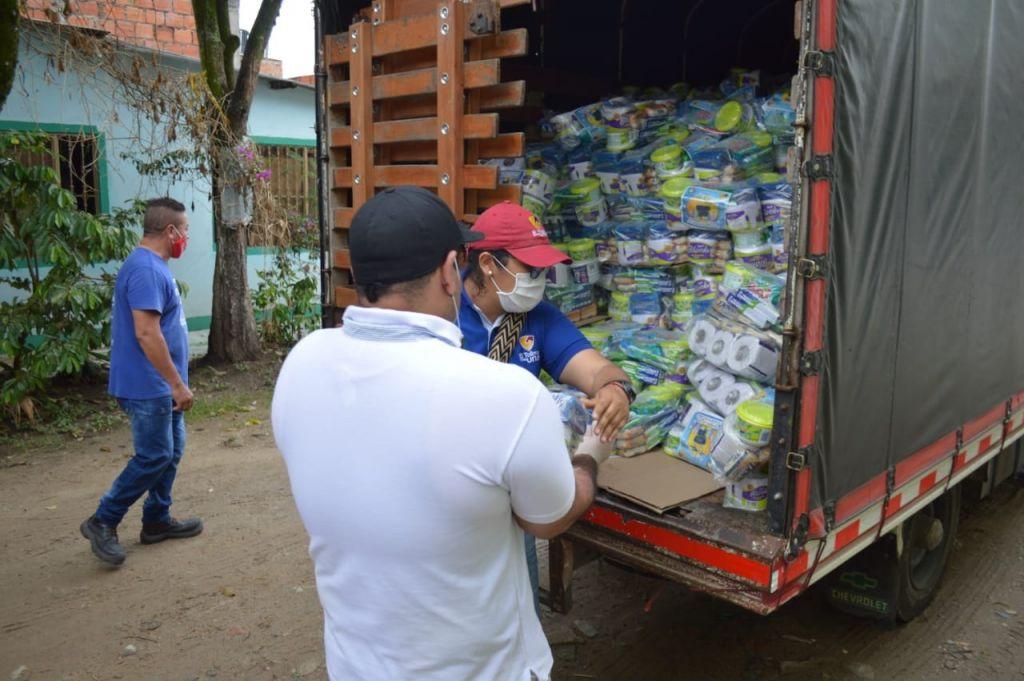 Gobernación se hace presente en comuna 7 de Ibagué, con ayudas