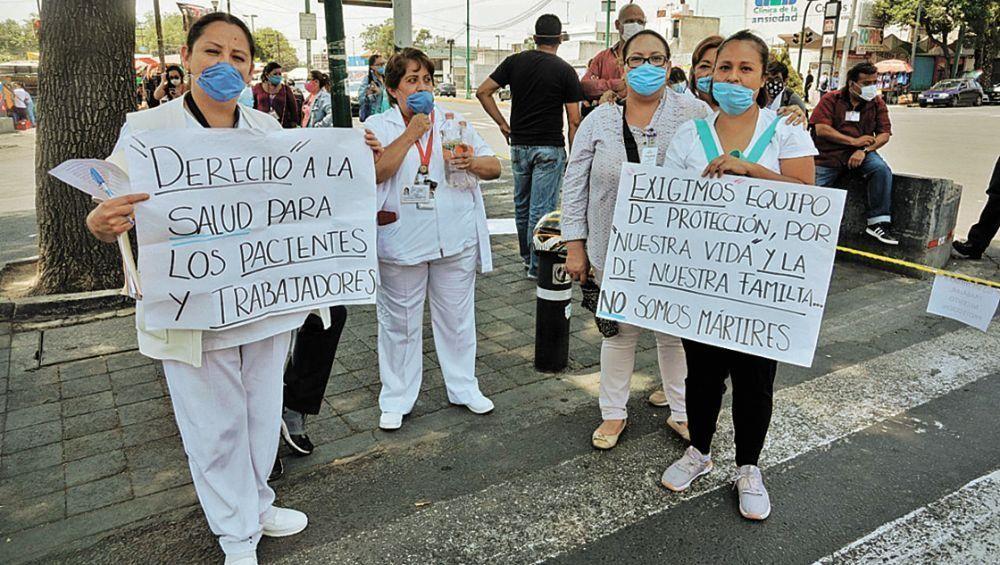 Sindicato de la salud entutela, para exigir elementos de protección