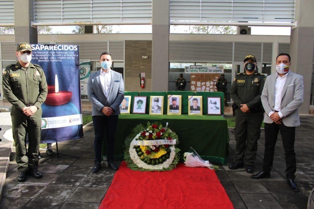 Homenaje a los desaparecidos, por la violencia en el Tolima