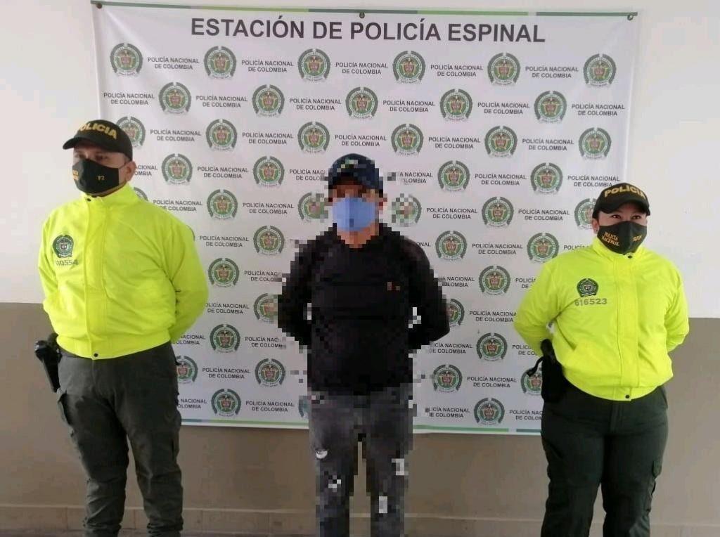 Le vendía armas a los ladrones en El Espinal