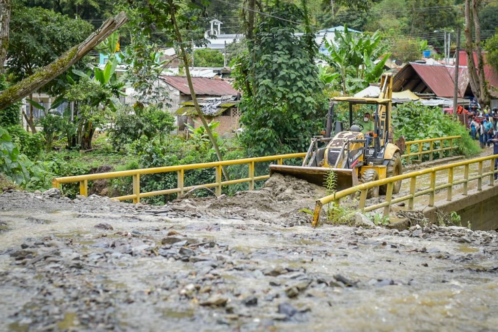 Se realizarán obras de mitigación en la quebrada Bellavista, Cañón del Combeima