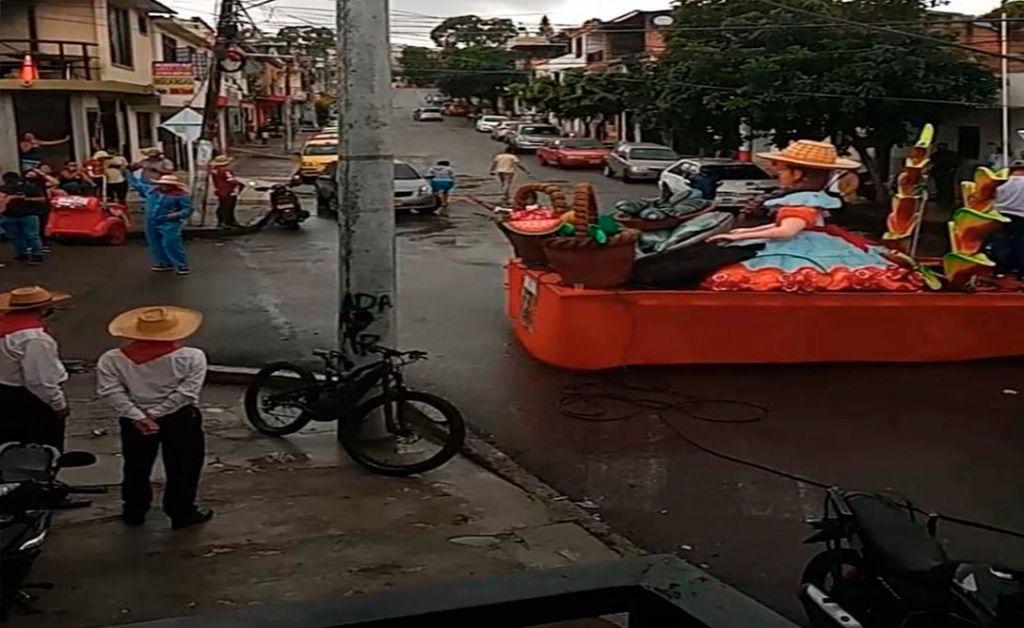 Explicación de la alcaldía de Ibagué, sobre las carrozas en las calles