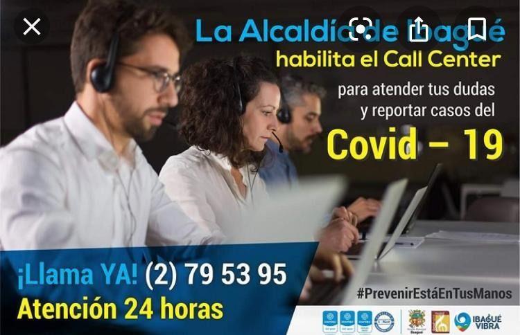Alcaldía de Ibagué desapareció Call Center para reportar casos de Covid-19.