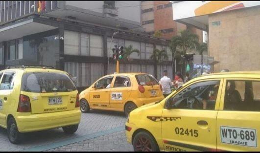 Taxistas de Ibagué, en la mira de la delincuencia