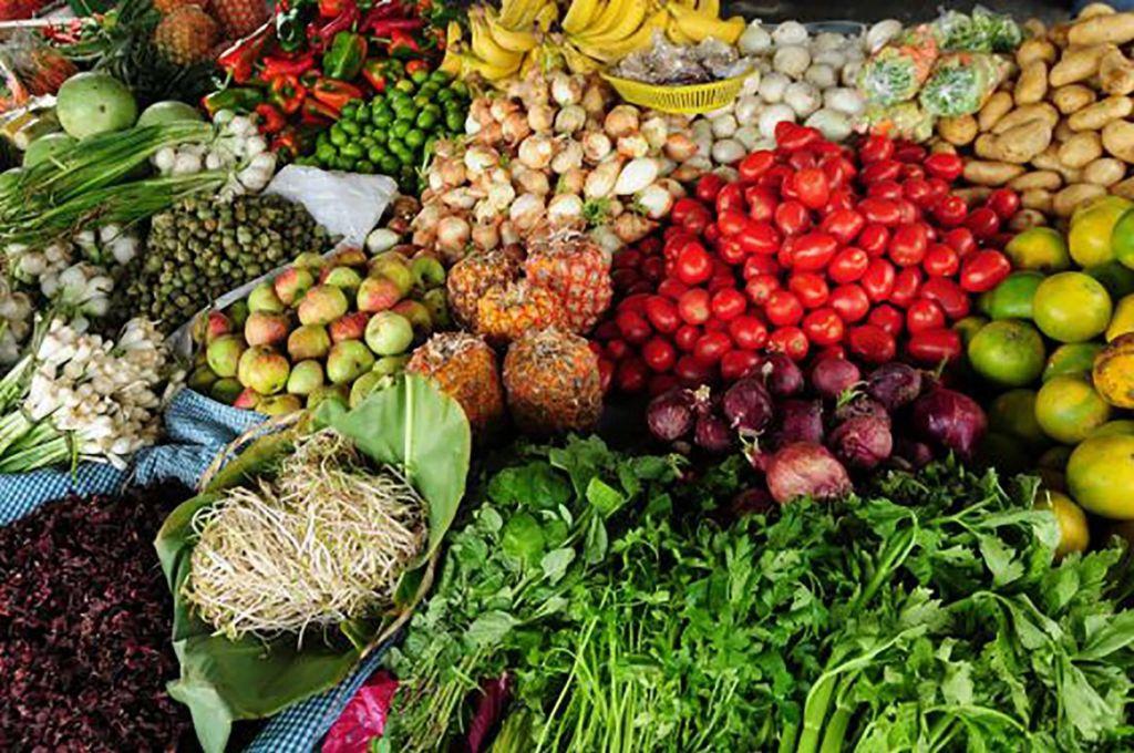 Las toneladas de comida, que se pierden en el centro del país