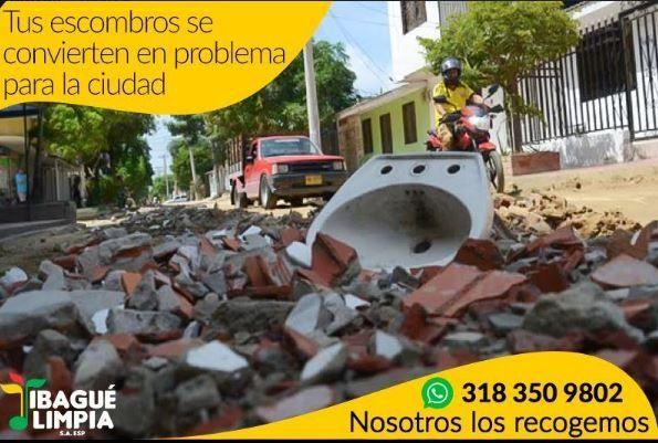 Conozca cómo solicitar el embellecimiento de sus zonas verdes y cómo contratar el servicio de recolección de escombros
