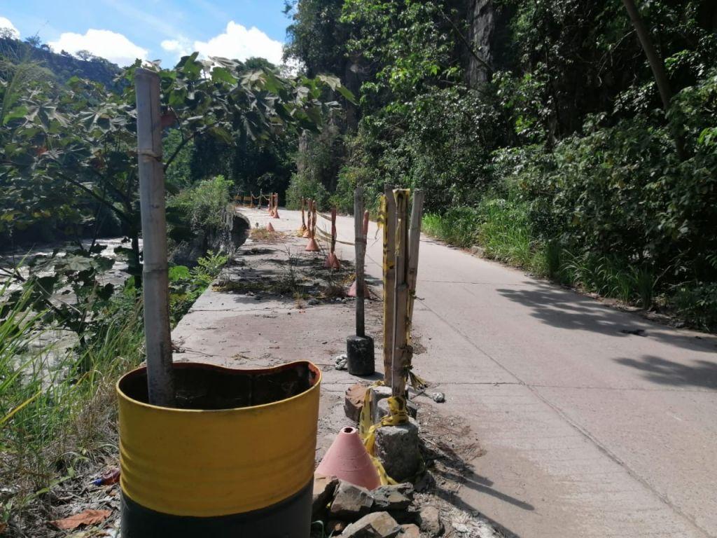 Intervienen vía Ibagué-Payandé, que esta en peligro